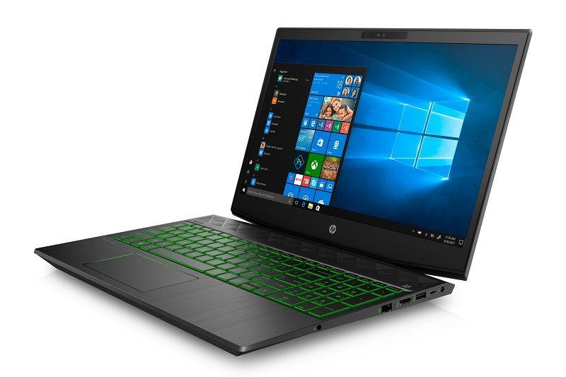 HP Pavilion Gaming Laptop FrontLeft ShadowBlack AcidGreen compressor - اچپی از محصولات گیمینگ سری پاویلیون رونمایی کرد