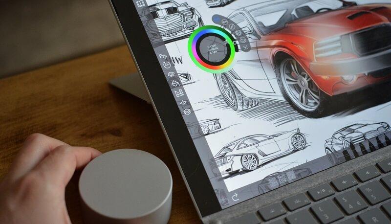 twarren surfacedial 4.0.0 1 - امکان پشتیبانی از Surface Dial روی صفحه سرفیس پرو 4 فراهم شد