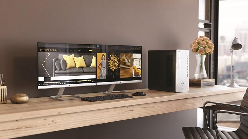 1526155915 hp envy desktop environment - اچپی از لپتاپهای پریمیوم، مانیتور و AIO خانواده Envy رونمایی کرد
