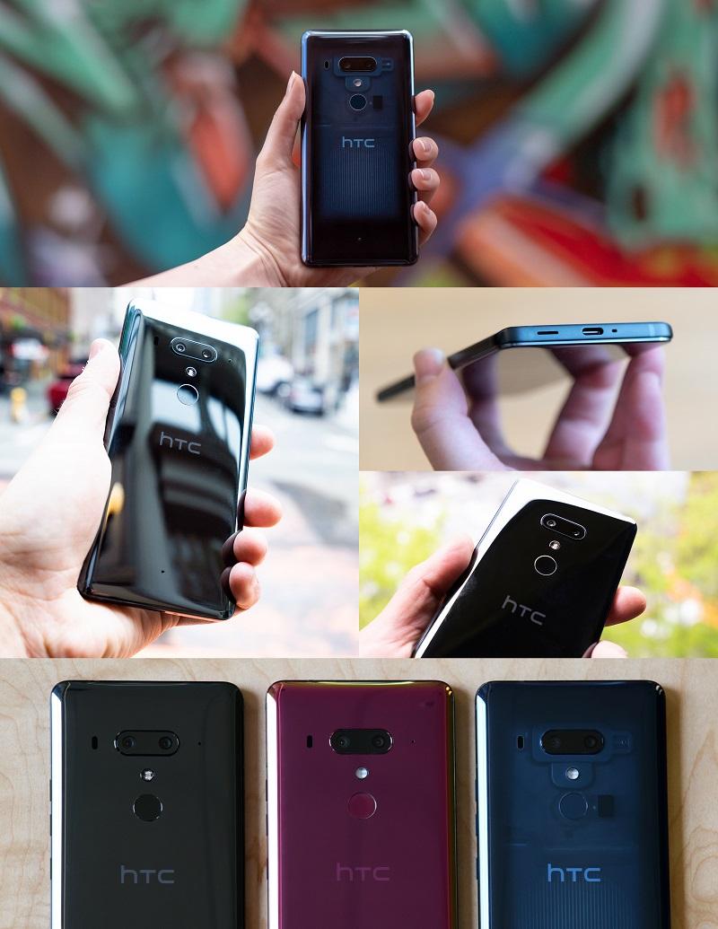HTC U12 - اچتیسی یو 12 پلاس با دوربین دوگانه و تراشه اسنپدراگون 845 معرفی شد