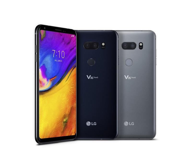 LG V35 ThinQ 01 - الجی V35 ThinQ به طور رسمی معرفی شد