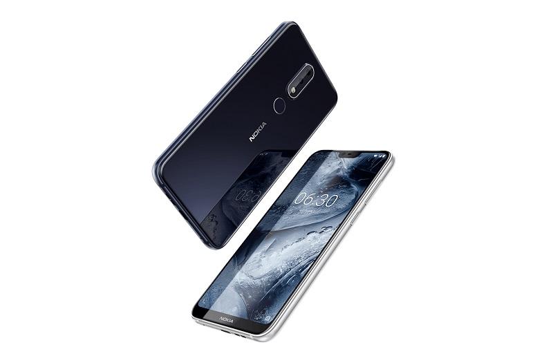 Nokia Dragon 01 Hero phone final1 - نوکیا X6 با دوربین دوگانه و بریدگی بالای صفحه رونمایی شد