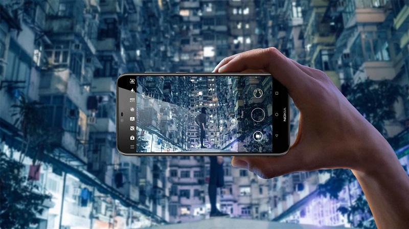 Nokia Dragon 05 cameras backround final - نوکیا X6 با دوربین دوگانه و بریدگی بالای صفحه رونمایی شد