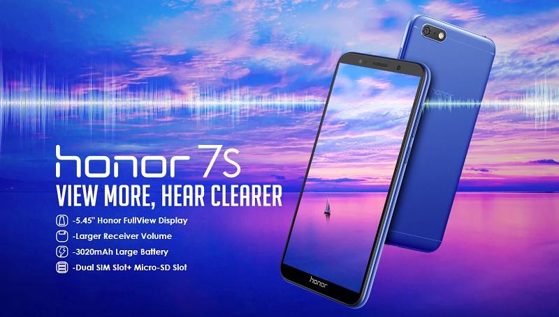 honor7s section1 pc - هواوی از موبایل اقتصادی Honor 7S رونمایی کرد