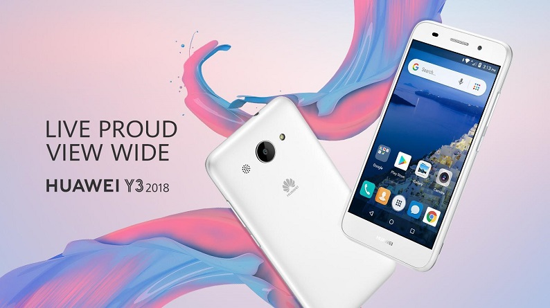 y3 2018 1 original - مدل 2018 هواوی Y3 به عنوان اولین گوشی اندروید گو معرفی شد