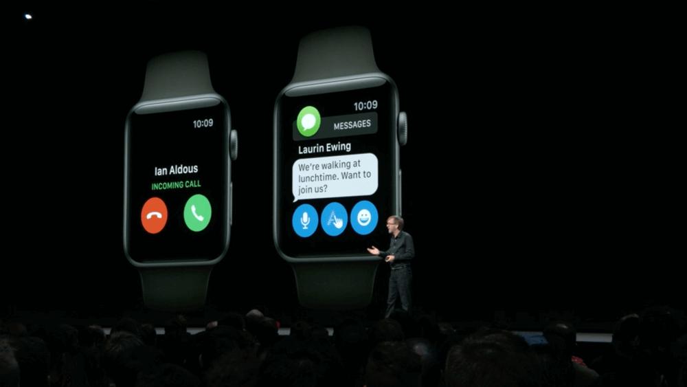 wwdc 2018 watchos 5 11 12 27 - اپل از WatchOS 5 برای ساعت هوشمند اپل واچ رونمایی کرد