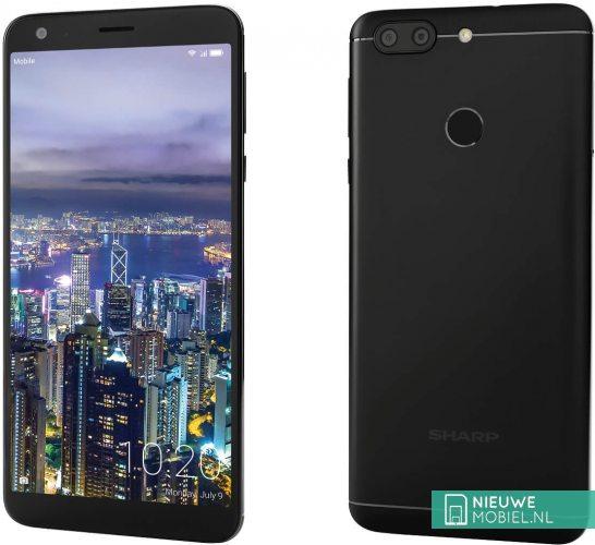 2018199 sharp b10 black 5b5057bb182f7 - شارپ از دو موبایل Aquos C10 و Aquos B10 رونمایی کرد