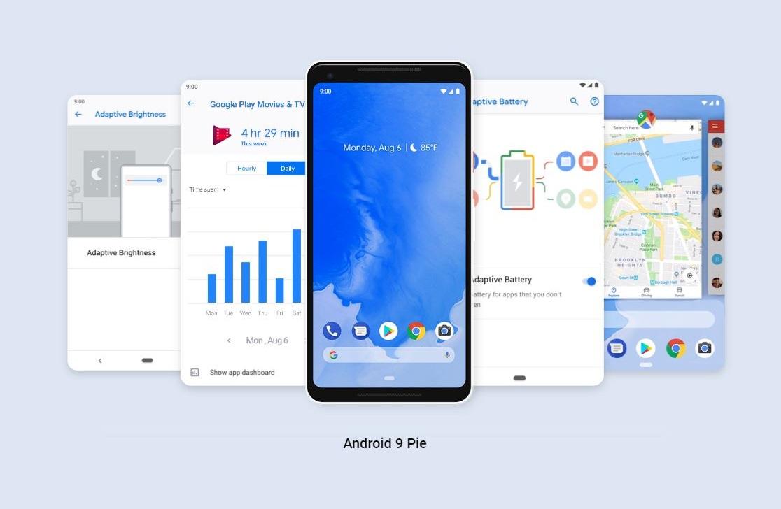 android p - نسخه نهایی اندروید P با نام Pie به طور رسمی منتشر شد