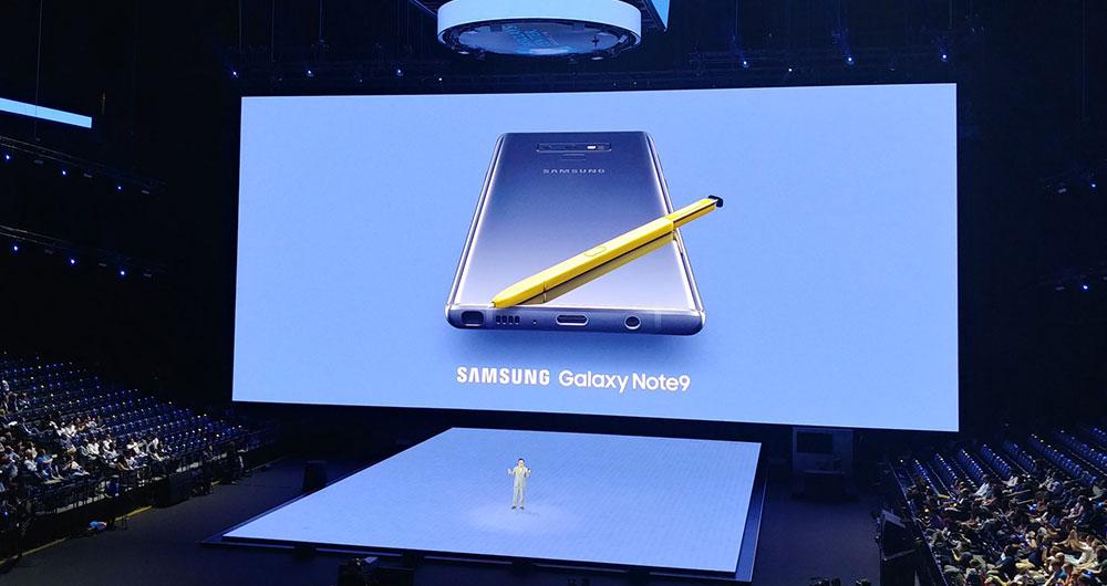 galaxy note 9 - گلکسی نوت 9 با قلم S Pen جدید و باتری بزرگتر معرفی شد