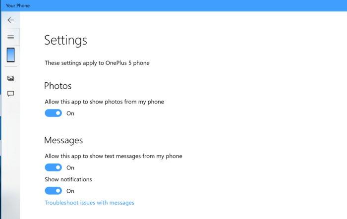 settings 100779082 large - آموزش استفاده از برنامه Your Phone روی ویندوز 10