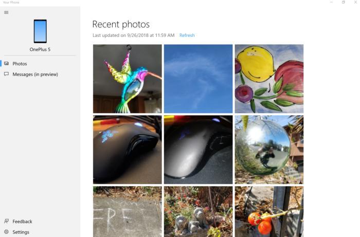 your phone photos 100774191 large - آموزش استفاده از برنامه Your Phone روی ویندوز 10