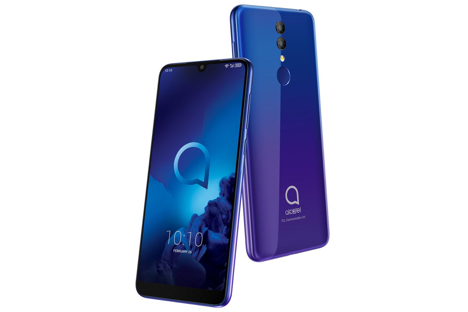 alcatel 3 3l 1s smartphones - آلکاتل از محصولات جدید خود در نمایشگاه MWC 2019 رونمایی کرد