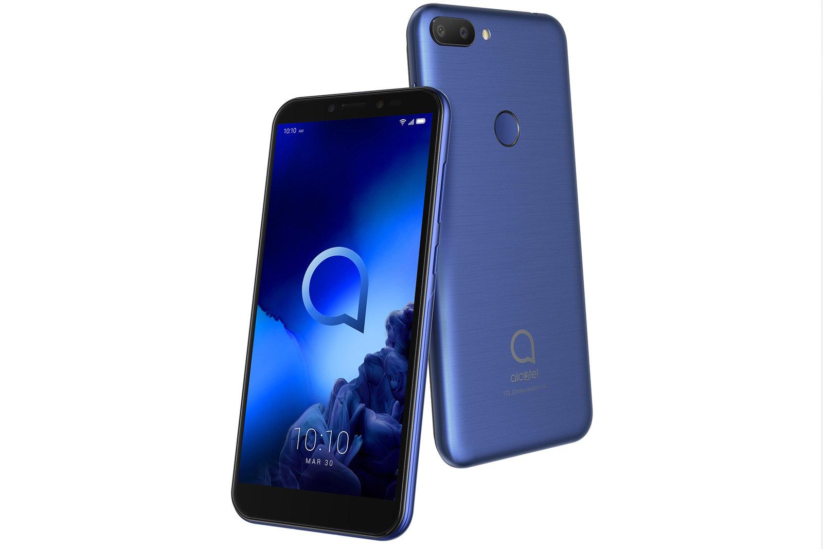 alcatel 3 3l 1s smartphones1 - آلکاتل از محصولات جدید خود در نمایشگاه MWC 2019 رونمایی کرد