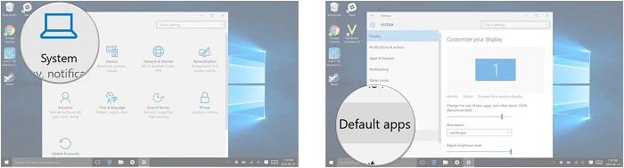 windows 10 default apps screens 01 - آموزش روشی برای تغییر پیشفرض نرم افزارها در ویندوز 10