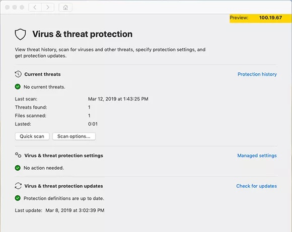 microsoft defender atp for mac 1 virus threat protection - مایکروسافت نرم افزار Defender ATP را برای مک منتشر کرد