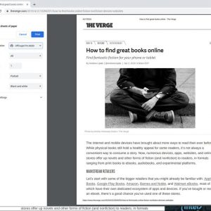 08 chromebook printing web printing dialog 300x300 - آموزش نحوه استفاده از چاپگر در کرومبوک ها