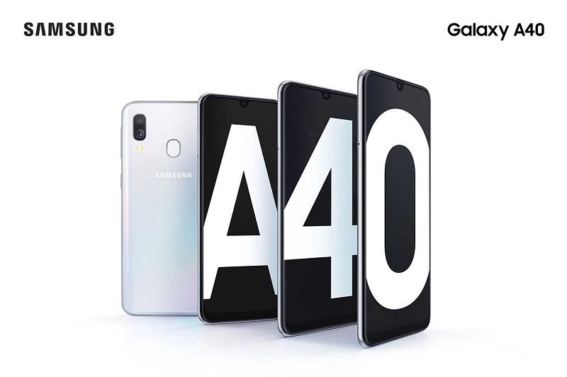 A40 Image - سامسونگ از گوشی گلکسی A40 رونمایی کرد