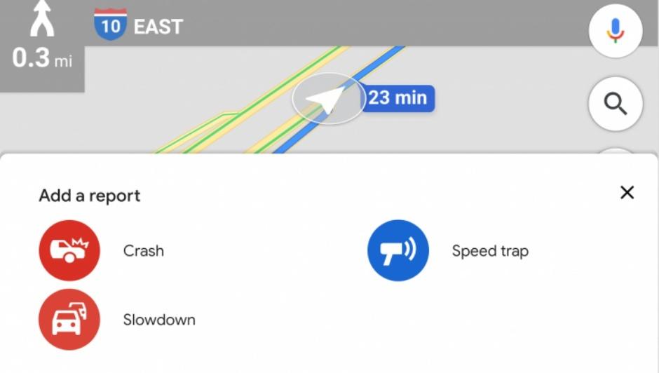 Google Maps slowdown report - گوگل قابلیت گزارش کندی ترافیک را به گوگل مپس افزود