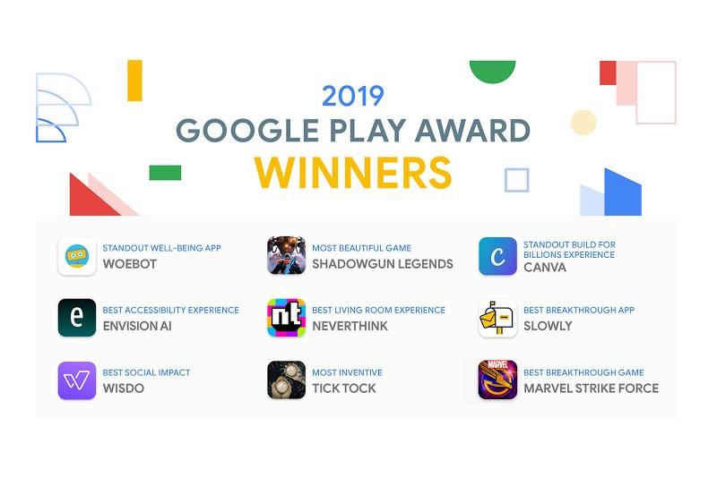 2019 google play award winners - برندگان مراسم Google Play Awards سال ۲۰۱۹ اعلام شدند