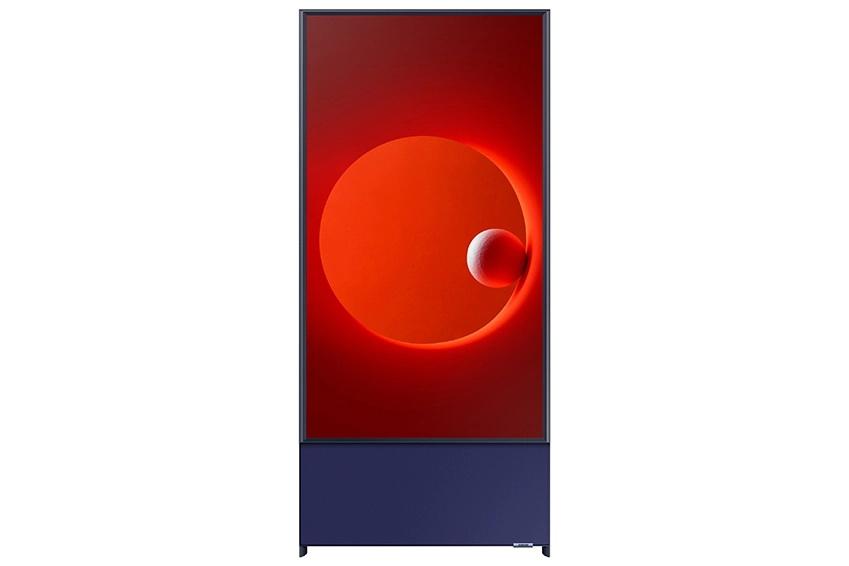 Vertical TV 14 - رونمایی سامسونگ از تلویزیون عمودی Sero با اندازه 43 اینچی