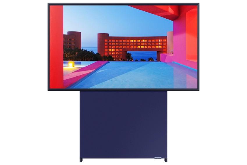 Vertical TV 2 - رونمایی سامسونگ از تلویزیون عمودی Sero با اندازه 43 اینچی