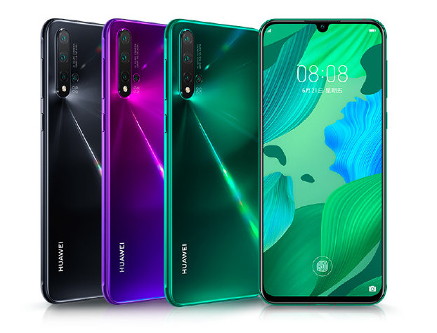 Huawei Nova 5 - هواوی از سه گوشی نوا 5، نوا 5 پرو و نوا 5i رونمایی کرد