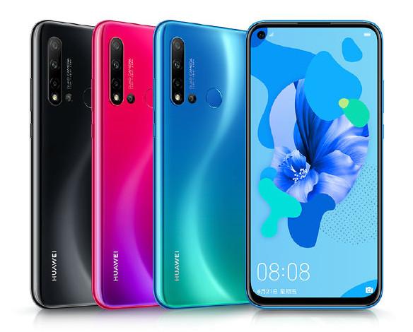 Huawei Nova 5i - هواوی از سه گوشی نوا 5، نوا 5 پرو و نوا 5i رونمایی کرد