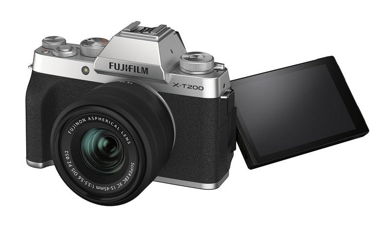 تصویر از فوجیفیلم از دوربین بدون آینه X-T200 رونمایی کرد