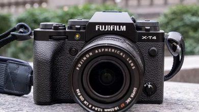 تصویر از دوربین بدون آینه فوجیفیلم X-T4 معرفی شد