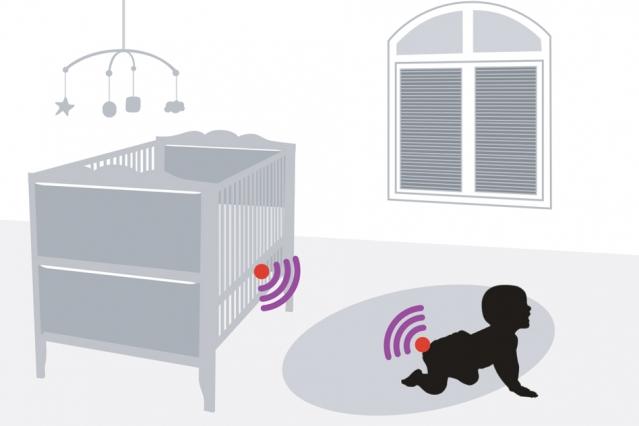 تصویر از طراحی سنسور RFID جدید با امکان تشخیص رطوبت پوشک و هشدار به والدین