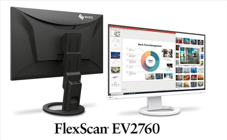 تصویر از رونمایی EIZO از مانتیور جدید FlexScan EV2760