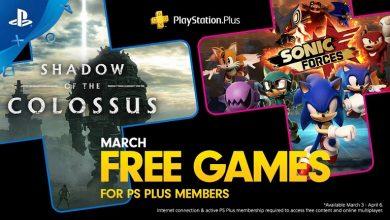 تصویر از بازی های رایگان ماه مارس 2020، پلیاستیشن پلاس اعلام شد