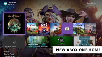 تصویر از مایکروسافت بروزرسانی داشبورد جدید Xbox One را منتشر کرد