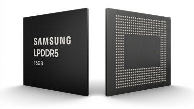 تصویر از سامسونگ تولید حافظه های رم 16 گیگابایتی LPDDR5 را شروع کرد