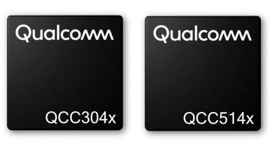 تصویر از کوالکام از دو تراشه QCC514x و QCC304x برای ایربادز رونمایی کرد