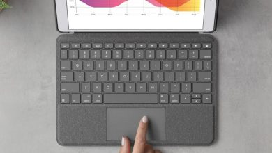تصویر از لاجیتک از کیبورد Combo Touch برای آیپدهای مخلتف رونمایی کرد