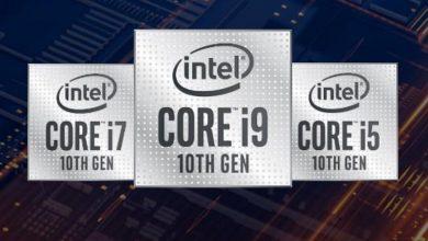 تصویر از رونمایی اینتل از نسل دهم پردازنده های سری H با سرعت کلاک توربو 5 گیگاهرتز