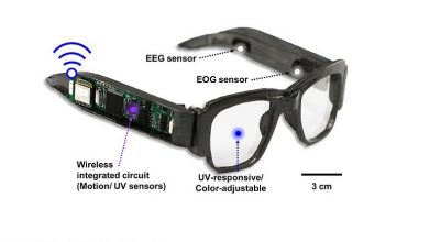 تصویر از طراحی عینک هوشمند چندمنظوره با توانایی کنترل سلامتی بدن