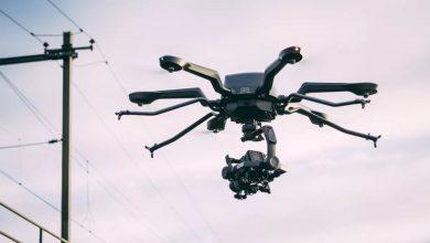 تصویر از هگزاکوپتر Noa قادر به پرواز یک ساعته یا بلند کردن 20 کیلوگرم وزن است.