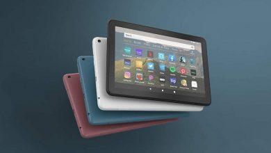 تصویر از آمازون از نسخه جدید تبلت های Fire HD 8 رونمایی کرد.