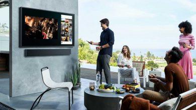 تصویر از رونمایی سامسونگ از تلویزیون QLED جدید Terrace برای استفاده در فضای بیرون