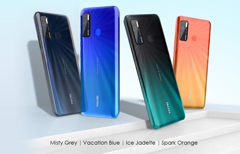 tecno spark 5 official3 - گوشی اقتصادی Tecno Spark 5 معرفی شد