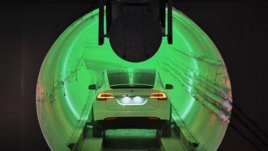 تصویر از شرکت بورینگ حفاری تونل هایپرلوپ در لاس وگاس را تمام کرد