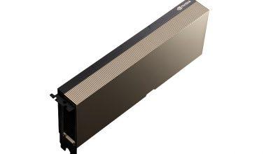 تصویر از انویدیا از شتاب دهنده A100 PCIe برپایه معماری Ampere رونمایی کرد