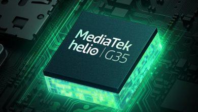 تصویر از مدیاتک از تراشه های Helio G35 و Helio G25 رونمایی کرد