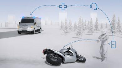 تصویر از بوش از سیستم تشخیص خودکار تصادف موتورسیکلت ها رونمایی کرد