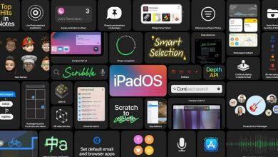 تصویر از اپل iPadOS 14 با چند قابلیت جدید معرفی شد
