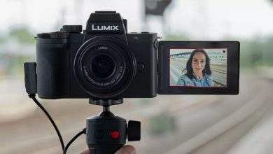 تصویر از رونمایی پاناسونیک از دوربین Lumix G100 برای ولاگرها