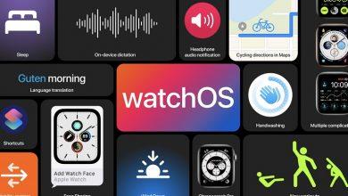 تصویر از اپل WatchOS 7 را برای اپل واچ ها معرفی کرد