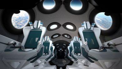 تصویر از ویرجین گالاکتیک از کابین VSS Unity برای گردشگران آینده فضایی معرفی کرد